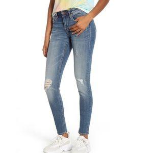 NWT Vigoss Jagger Skinny Jeans Distressed 27